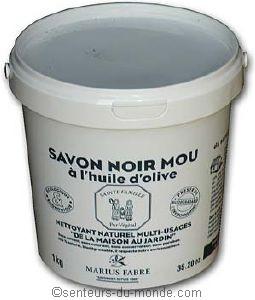 savon noir a l'huile d'olive marius fabre