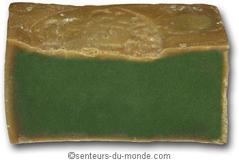 savon d'alep vert